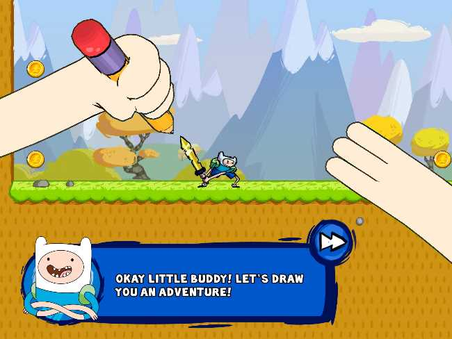 adventure time game wizard video