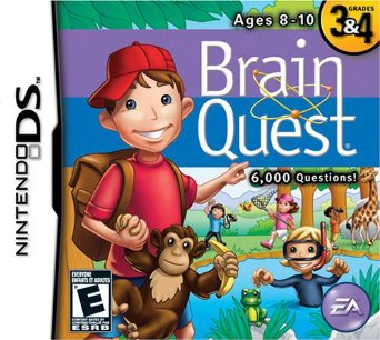 Brain Quest Grade 4 Ages 9-10 (revised 3rd ed) - 1500 Q and A Challenge the Mind!
