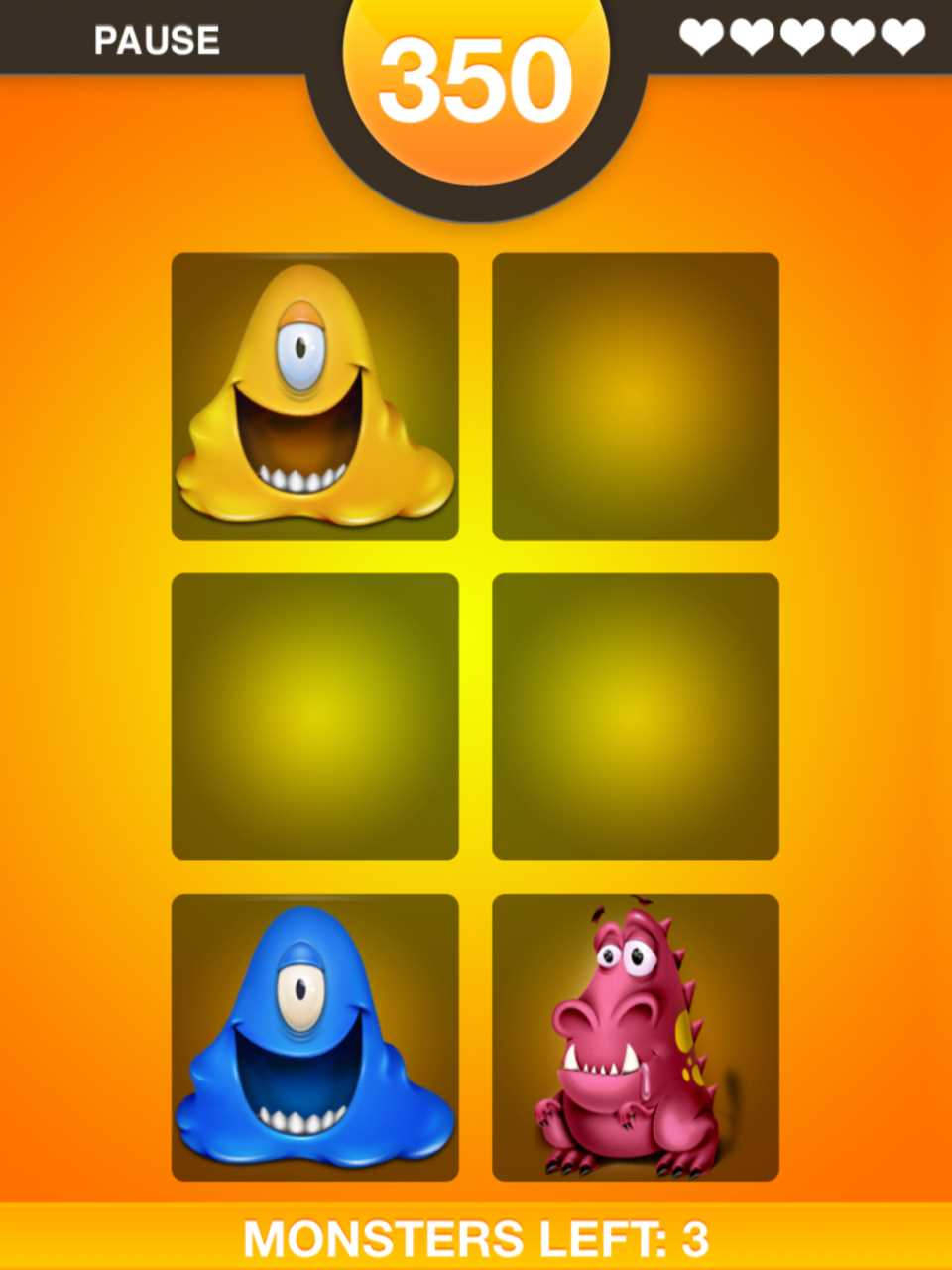 Five Star App >> Monster Hunt - The Memory Game Review - TechWithKids.com