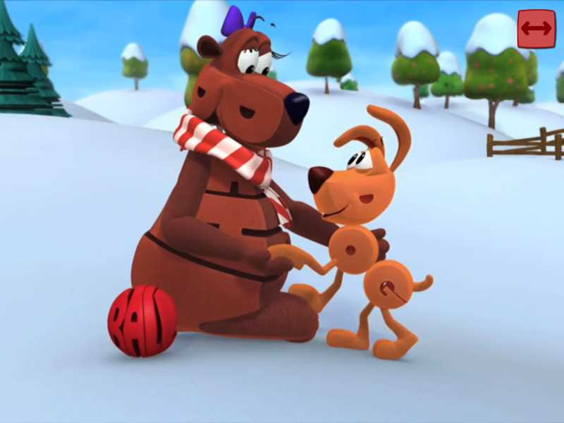 wordworld tales a christmas present for dog appisode